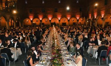 Nobel Prize banquet held in Sweden