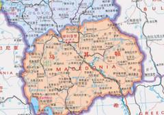 马其顿地图