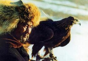 哈萨克族猎人