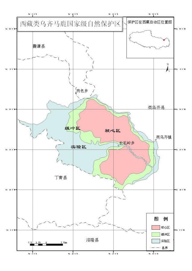 类乌齐马鹿国家级自然保护区